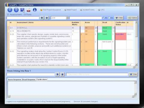 ComplyPro Tender Assessment Sample