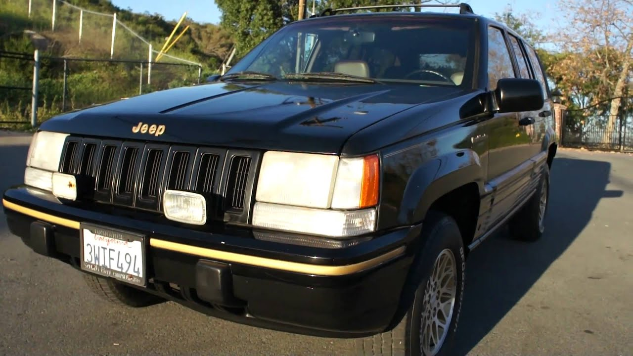 High Quality 1994 JEEP Grand Cherokee Limited Wagoneer 103k Orig Mi AWD SUV