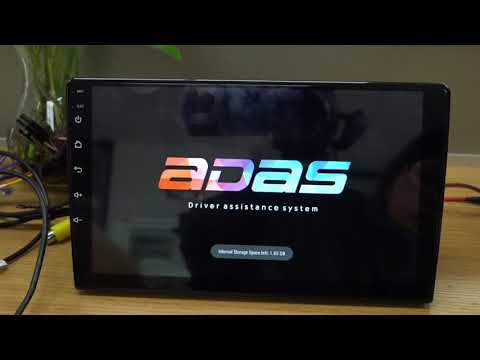 how to install the ADAS DVR and setting update