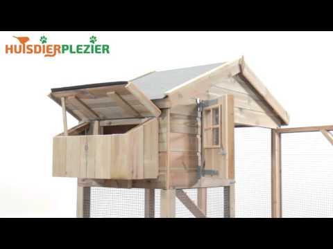 Huisdierplezier.nl | Kippenhok Nova | Kippenhok bouwen