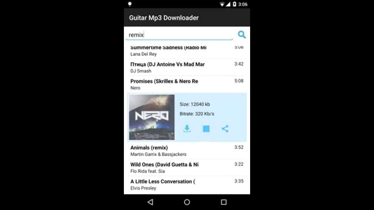 Phone Free Mp3 Downloader For Android Phone guitar free mp3 downloader for android youtube android