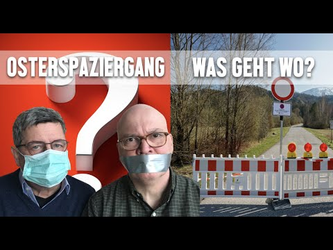 Osterspaziergang - Was geht wo?