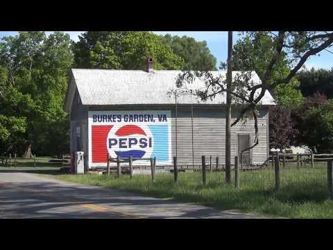 "Burkes Garden, Virginia - ""God's Thumbprint"" in Tazewell County"