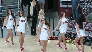 trojancandy.com:  The USC Song Girls Perform at Men's Volleyball Match vs. UCLA