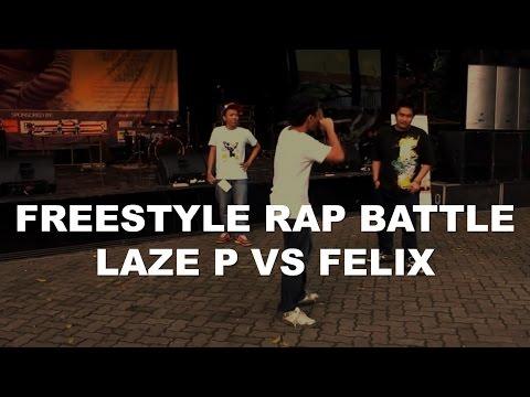 hip-hop Indonesia Lazy P vs Felix Freestyle Rap Battle
