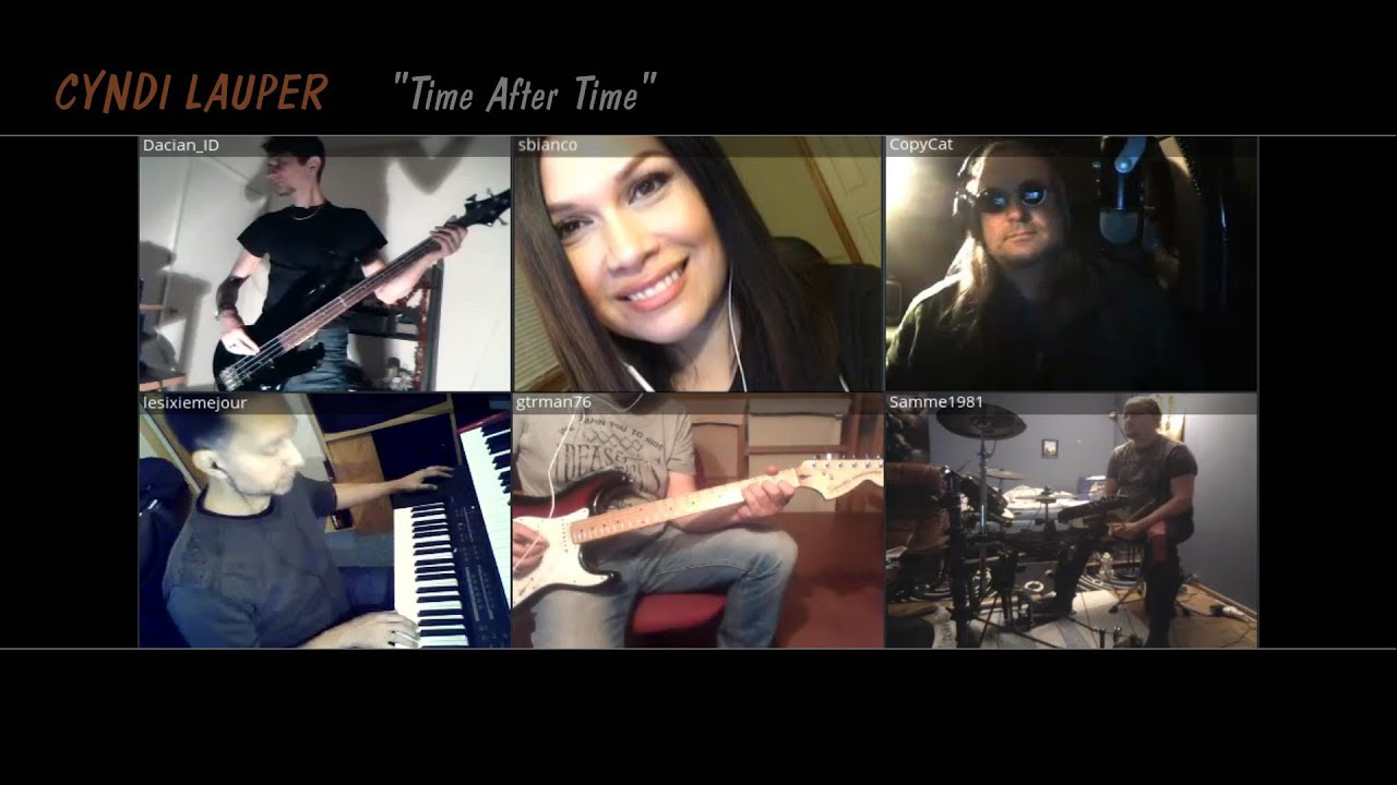 Time after time - CYNDI LAUPER [ScreamingDays - Bandhub Cover]