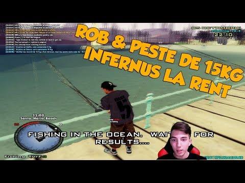ROB + INFERNUS LA RENT CAR & PESTE DE 15KG !