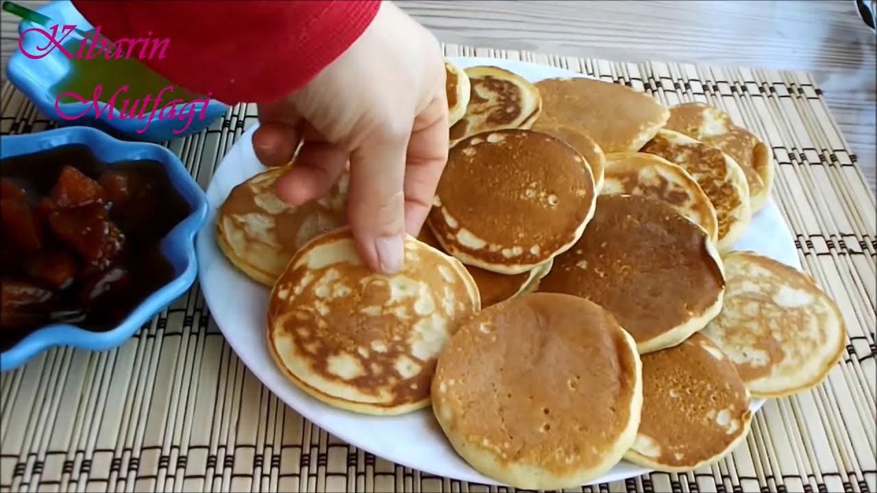 Pankek tarifi - Kahvaltılık kolay pankek nasıl yapılır ...