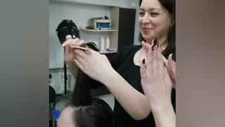 Как стричь умный Каскад на волнистые волосы и как делать укладку на диффузор