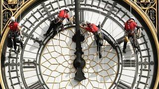 London: 1 tuần để lau chùi mặt đồng hồ Big Ben