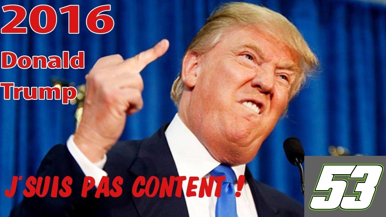 J'SUIS PAS CONTENT ! #53 :  Donald Trump a gagné les élections ! [Quickie #10]