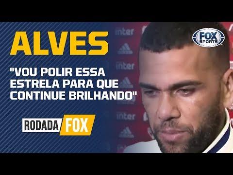 """""""EU TENHO UMA ESTRELA DIFERENTE"""", Diz Daniel Alves após vitória contra o Ceará"""