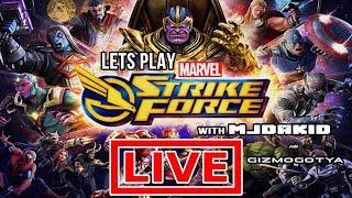 Watch me play MARVEL Strike Force via Omlet Arcade!