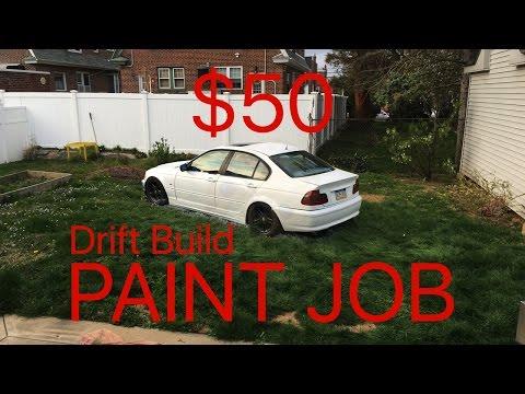 Spray painting the drift car (Ep.4)
