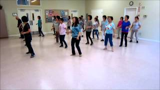 Bayou Bay Boogie ~ Max Perry - Line Dance (Walk thru & Danced)