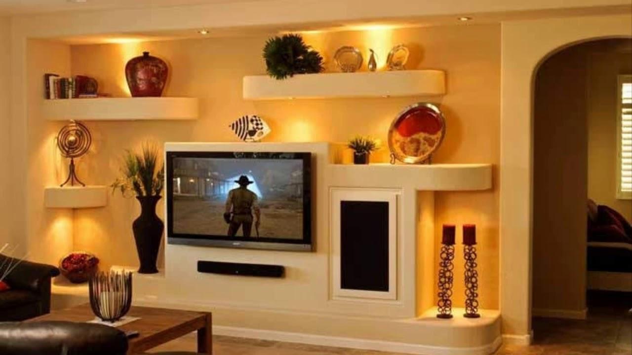 placo platre meuble tv youtube
