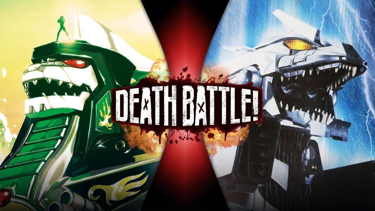 Kiryu vs Dragonzord  by WOLFBLADE111 on DeviantArt