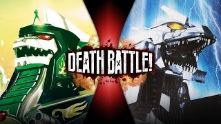 Dragonzord VS Mechagodzilla (Power Rangers VS Godzilla) | DEATH BATTLE!