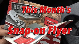 Snap-on Tools Monthly Flyer - YouTube