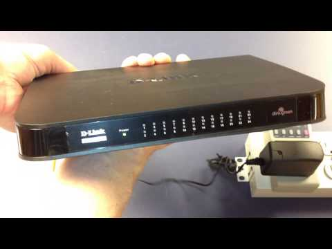 Unboxing And Measuring Watt Burn Of D-link 24 Port Gigabit Switch (DGS-1024A)
