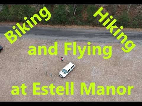 Biking, Hiking and Flying at Estell Manor NJ.