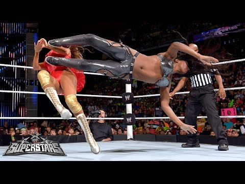 Naomi vs. Rosa Mendes: WWE Superstars, July 17, 2014