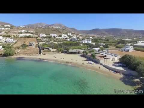 Delfini Beach, Paros island, Greece