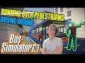 BUS SIMULATOR 2016 - Asian Bus Driver Hits Pedestrians Repeatedly