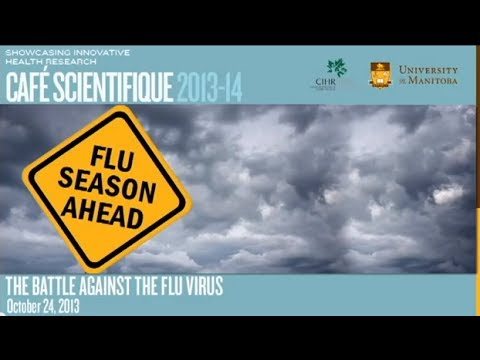 Cafe Scientifique: The Battle Against The Flu Virus