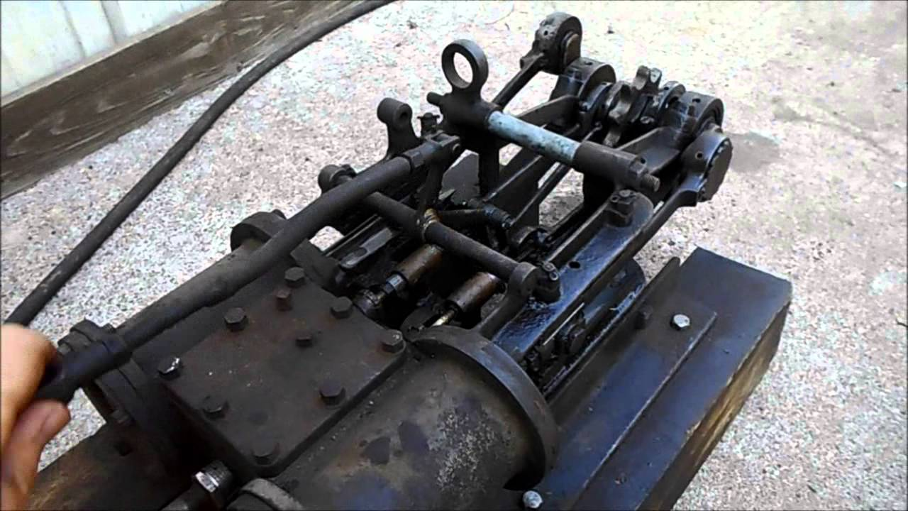 Compressed Air Car >> Original Stanley steamer car engine - YouTube