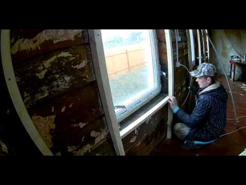 обрешетка под вагонку в старом деревянном доме