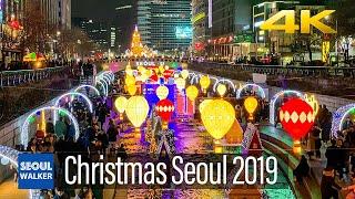[4K] Seoul City 2019 Christmas…