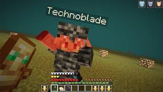 i finally beat technoblade