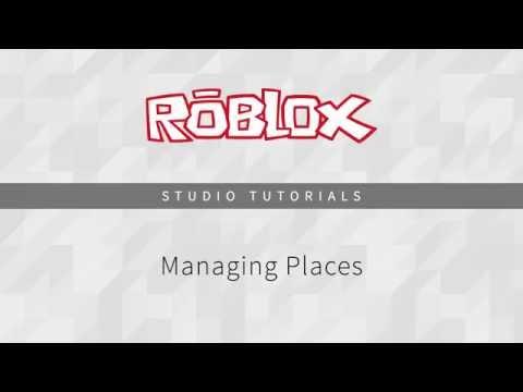 Managing Places