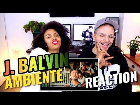 J. Balvin - Ambiente | REACTION