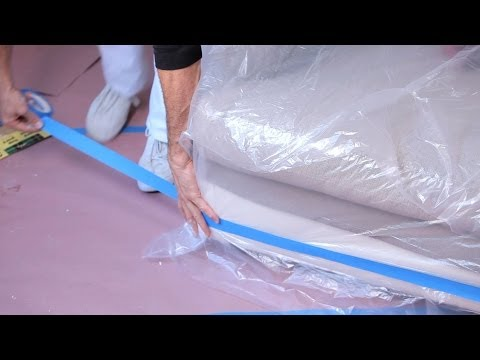 How to Protect Furniture | House Painting