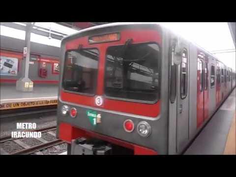 Viajando en el Metro de Lima --Linea  1-- Diciembre  2017.