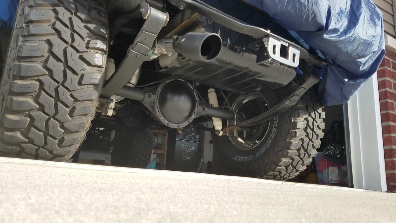 hight resolution of 1981 jeep cj7 muffler exhaust comparison