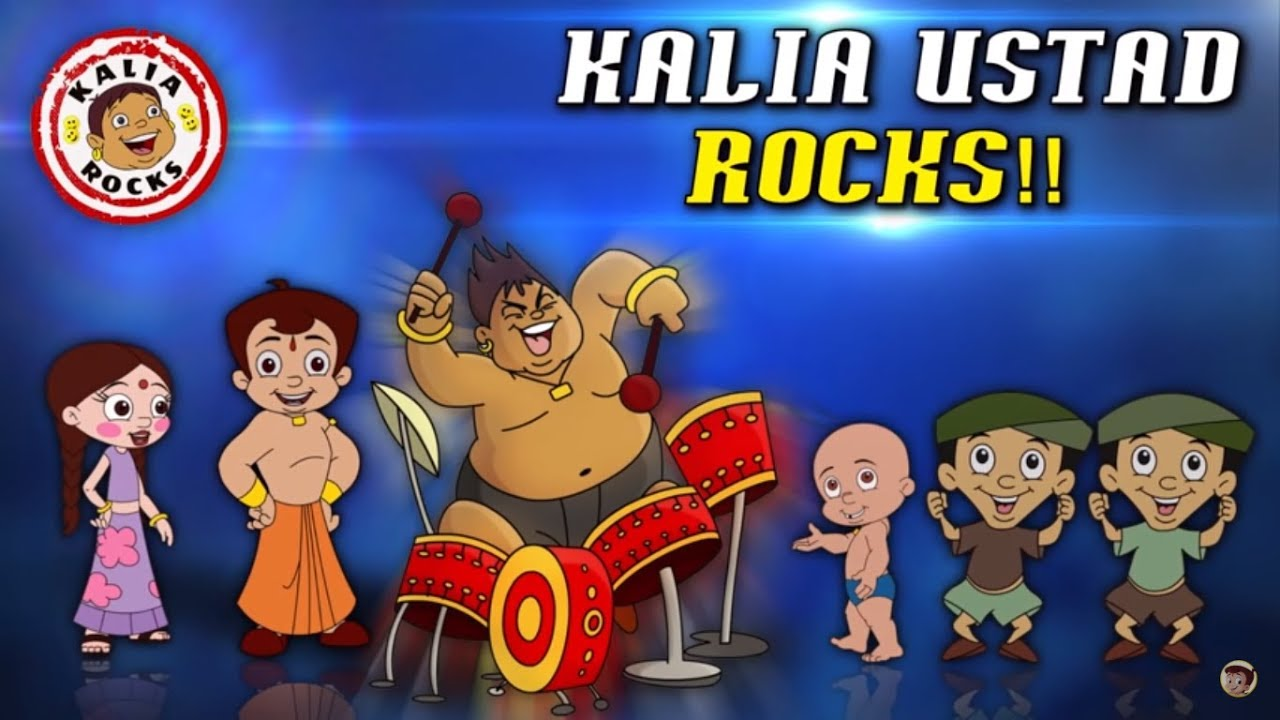 Chhota Bheem - Kalia Ustad Rocks!! - Back to Back Comedy