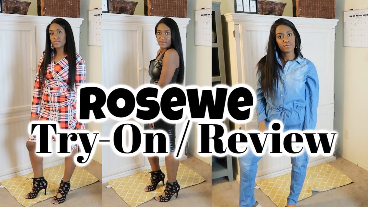18b9ae4e950 Rosewe Try-on   Review   Curvy Girl Fashion Try on - YouTube