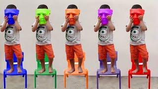 Mainan dan lagu anak anak l اللغة الانجليزية اغنية الحروف الانجليزية للاطفال العاب اطفال تعليمية #6