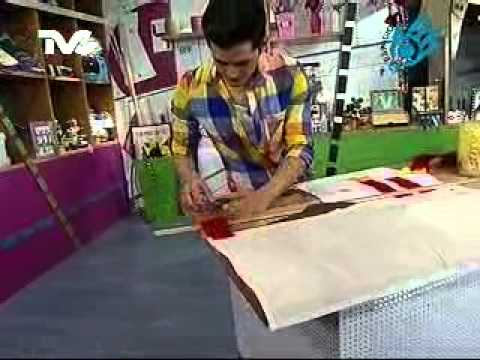 C mo hacer una cortina para cocina parte 2 ec youtube for Como hacer cortinas de cocina