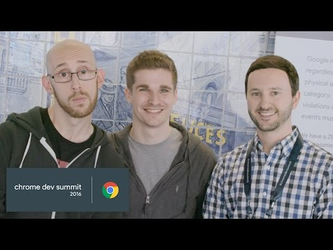 Summit Report: Surma and Paul Lewis (Chrome Dev Summit 2016)