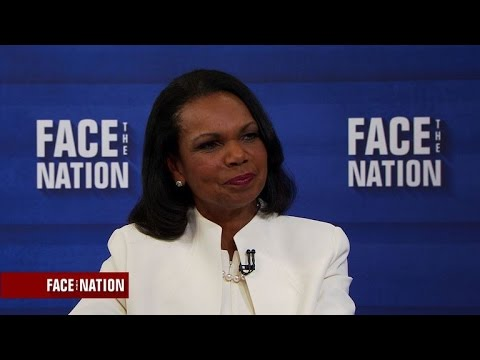 Full interview: Condoleezza Rice, May 7