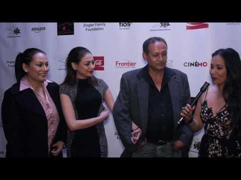 Cinémoi's Oscars After Party Interview w/ Dvina Thampa