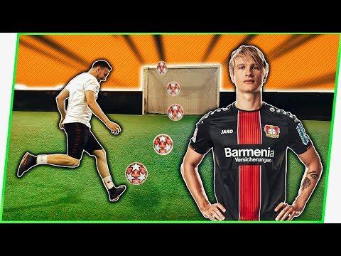 CROSSBAR CHALLENGE w/ TIN JEDVAJ (FC Bayer Leverkusen)