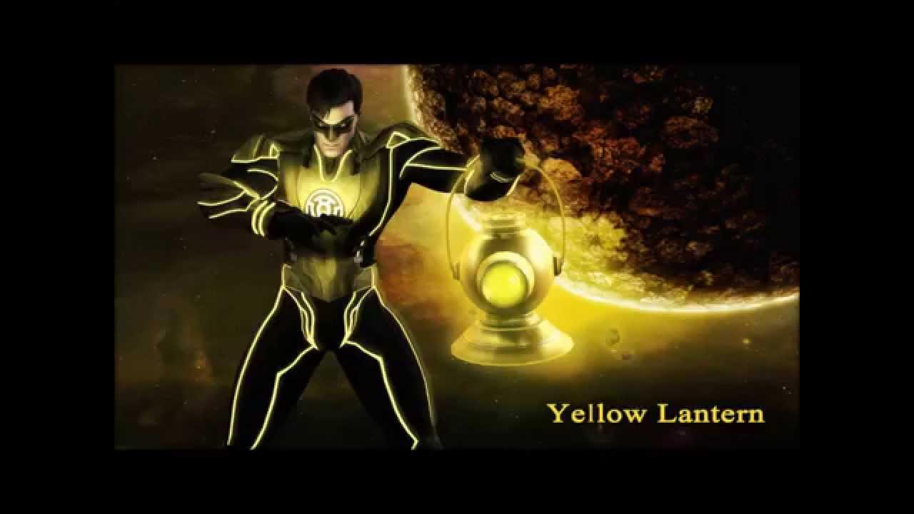 Hal Jordan Sinestro Corps Member Yellow Lantern Injustice ...