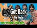 The Beatles - Get Back - BASS Tutorial [With Tabs] - Play Along