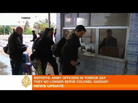 Al Jazeera English broadcasts live from inside Libya