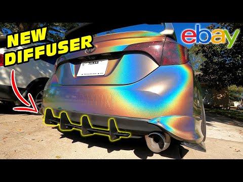 INSANE $75 Rear Diffuser from Ebay